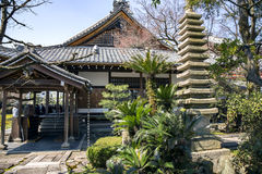 temple de Katsuo-JI dans la ville de Mino Photo stock