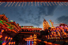 Temple de Kek Lok SI Photos libres de droits