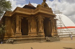 Temple de Kelaniya Photographie stock libre de droits