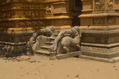 Temple de Kelaniya Image stock