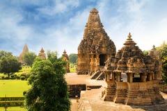 Temple de Khajuraho photographie stock