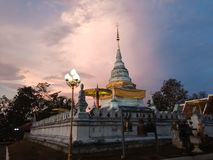 Temple de Khao NOI image stock