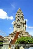 Temple de Khmer Images libres de droits