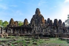 Temple de Khmer d'Angkor Thom, Cambodge Angkor Thom était le bout et la plupart de capitale durable de l'empire de Khmer photo stock