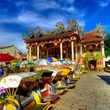Temple de Khoo Kongsi Images stock