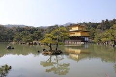 Temple de Kinkaku-ji à Kyoto Image libre de droits