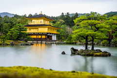 Temple de Kinkaku-Ji Photo stock