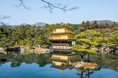 Temple de Kinkakuji Photographie stock libre de droits