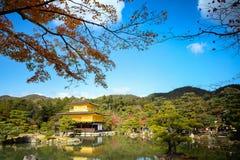 Temple de Kinkakuji Images libres de droits