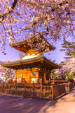 Temple de Kitain dans le printemps à la ville saitama de Kawagoe au Japon photos stock
