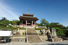Temple de Kiyomizu Image stock