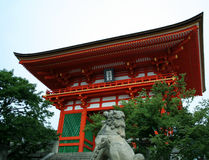 Temple de Kiyomizu Photographie stock