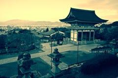 temple de kiyomizu photo stock