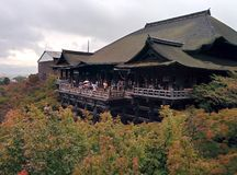 Temple de Kiyomizu-dera à Kyoto, Japon Photo libre de droits