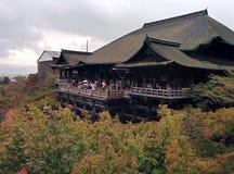 Temple de Kiyomizu-dera à Kyoto, Japon Photo libre de droits
