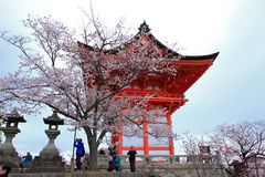 Temple de Kiyomizu, Japon Photo stock