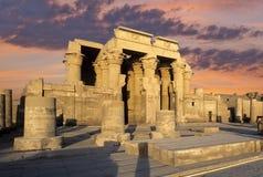 Temple de Kom Ombo, Egypte Image libre de droits