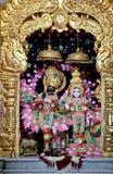Temple de Krishna Rukmani - Inde image stock