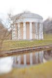 Temple de l'amitié en parc de Pavlovsk Images stock