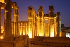 Temple de l'Egypte Luxor Image libre de droits