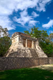Temple de l'homme barbu, Mexique Image libre de droits