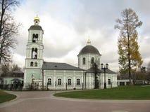 Temple de l'icône de la mère du ` de Dieu le ` vivifiant de ressort dans Tsaritsyn La date de la construction est 1722 Photos stock