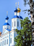 Temple de l'icône de Kazan de la mère de Dieu photos stock