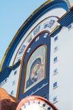 Temple de l'icône de Kazan de la mère de Dieu L'église orthodoxe Photographie stock libre de droits