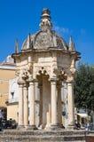 Temple de l'Osanna. Nardo. La Puglia. L'Italie. photographie stock libre de droits