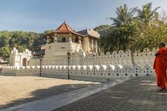Temple de la dent à Kandy Sri Lanka Photo libre de droits