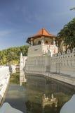 Temple de la dent à Kandy Sri Lanka Photographie stock libre de droits