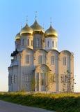 Temple de la mère bénie Matrona de Moscou Images stock