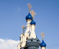 Temple de la nativité de Vierge Marie béni Moscou, Russie Photo stock