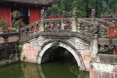 temple de la patte Shuang-GUI Images libres de droits