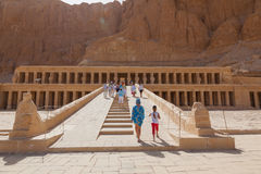 Temple de la Reine Hatshepsut Photos stock