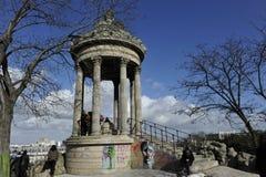 Temple de la Sibylle, Paris Images libres de droits