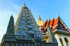 Temple de la Thaïlande à la ville de rayong. Photographie stock