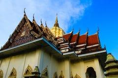 Temple de la Thaïlande à la ville de rayong. Image libre de droits