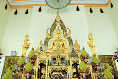 Temple de la Thaïlande à la ville de rayong. Photo stock