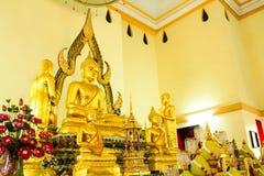 Temple de la Thaïlande à la ville de rayong. Images stock
