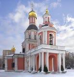Temple de la trinité vivifiante composé patriarcal au SV photos stock