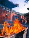 Temple de lama à Pékin Photos libres de droits