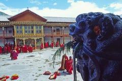 Temple de lama image libre de droits