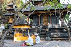 Temple de lawah de Goa Photos libres de droits