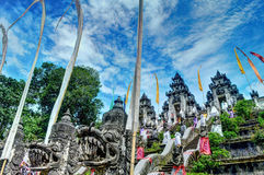 Temple de Lempuyang Photos stock