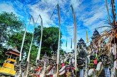 Temple de Lempuyang Image libre de droits