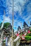 Temple de Lempuyang Photographie stock