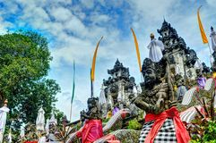 Temple de Lempuyang Photo stock