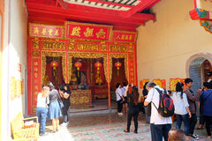 Temple de Leng Nuei Yee Image stock