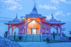 Temple de Lord Krishna à Katmandou Photos libres de droits